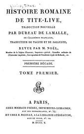 Histoire romaine de Tite-Live: Volume1