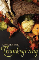 A Prayer for Thanksgiving  Pack of 25  PDF