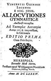 Allocutiones gymnasticae