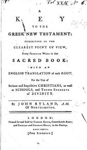 A Key to the Greek New Testament, etc: Issue 1