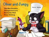 Oliver and Jumpy - the Cat Series, Stories 55-57: Bedtime stories for children in illustrated picture book with short stories for early readers.