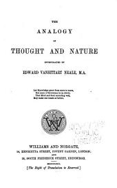 The Analogy of Thought and Nature