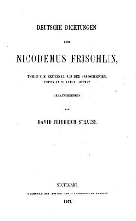 Deutsche Dichtungen PDF