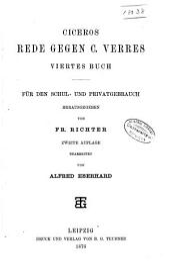 Ciceros vierte Rede gegen C. Verres: Viertes Buch