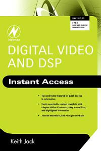 Digital Video and DSP  Instant Access