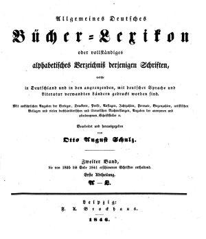 Allgemeines Bucher Lexikon PDF