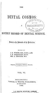 The Dental Cosmos: Volume 6