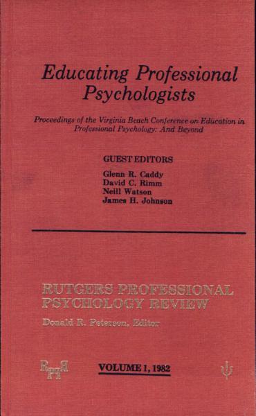 Educating Professional Psychologists