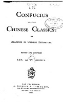 Confucius and the Chinese Classics PDF