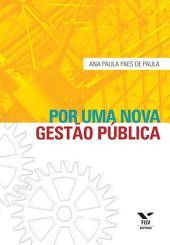 Por uma nova gestão pública