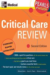 Critical Care Review: Pearls of Wisdom, Second Edition: Edition 2
