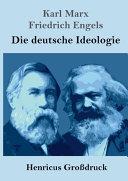 Die deutsche Ideologie  Gro  druck  PDF