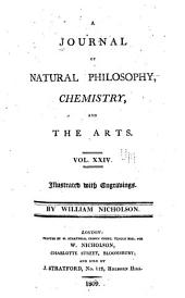 A Journal of Natural Philosophy, Chemistry and the Arts: Volume 24