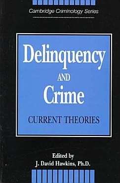 Delinquency and Crime PDF