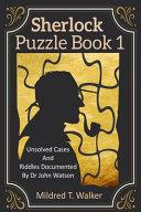 Sherlock Puzzle Book  Volume 1  PDF