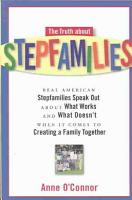 The Truth about Stepfamilies PDF