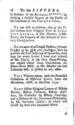 Mr. Pope's Literary Correspondence
