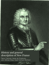 History and General Description of New France: Volume 6