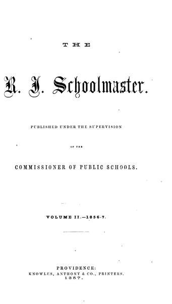 The R I  Schoolmaster PDF
