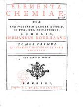Elementa cheminiae