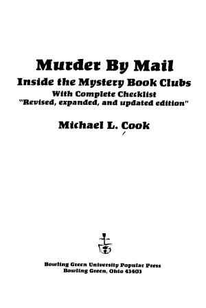 Murder by Mail PDF