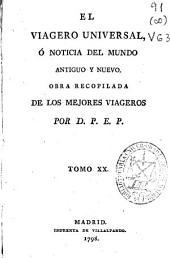 El viagero universal ó Noticia del mundo antiguo y nuevo: Volumen 20