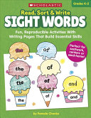 Read  Sort and Write  Sight Words Book