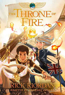 The Kane Chronicles Book Two The Throne of Fire  The Graphic Novel PDF
