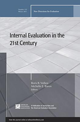 Internal Evaluation in the 21st Century PDF