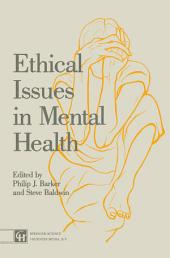 Ethical Issues in Mental Health
