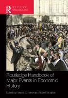 Routledge Handbook of Major Events in Economic History PDF