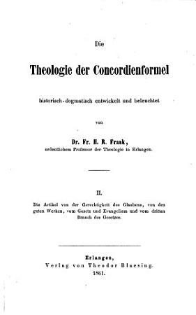Die Artikel von der Gerechtigkeit des Glaubens  von den guten Werken  vom Gesetz und Evangelium und vom dritten Brauch des Gesetzes PDF