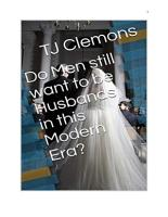 Do Men still want to be Husbands in this Modern Era  PDF