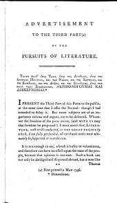 The pursuits of literature: a satirical poem in dialogue. With notes, Volume 2