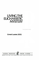 Living the Eucharistic Mystery PDF