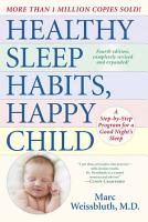 Healthy Sleep Habits  Happy Child PDF