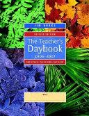 The Teacher S Daybook 2006 2007 Book PDF