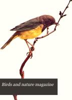 Birds and Nature Magazine PDF