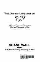 What Are You Doing After the Dance  PDF