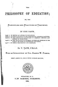 The Philosophy of Education PDF