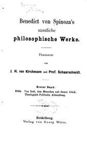 Sämtliche philosophische werke