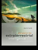 The Search for Extra Terrestrial Intelligence PDF