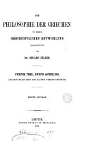 DIE PHILOSOPHIE DER GRIECHEN PDF