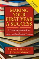 Making Your First Year a Success PDF
