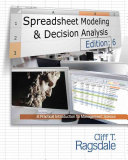 Spreadsheet Modeling   Decision Analysis  A Practical Introduction to Management Science