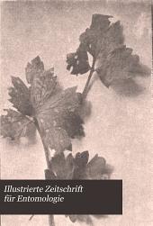 Illustrierte Zeitschrift für Entomologie: Bände 3-4