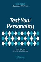 Test Your Personality PDF