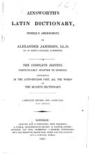 Morell's Abridgment, by A. Jamieson. Revised and corrected, with additions