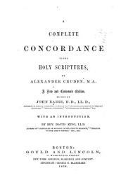A Complete Concordance to the Holy Scriptures PDF