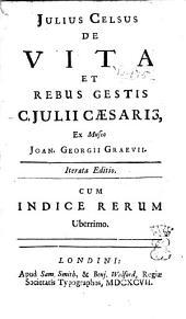 De vita et rebus gestis C. Julii Caesaris,